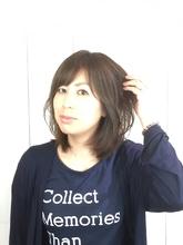 ふんわりミディー hair LiLiy 浅草橋店のヘアスタイル