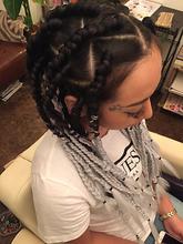 クール×コーンロウ|Hair Design BROWN SUGARのヘアスタイル