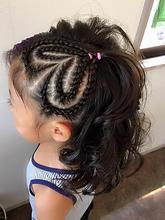 ガーリー×コーンロウ|Hair Design BROWN SUGARのキッズヘアスタイル