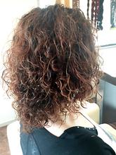 ガーリースパイラルパーマ(太めスパイラル)|Hair Design BROWN SUGARのヘアスタイル
