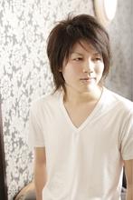 男前ウルフ|ANT'S Hair and Resort 辻堂本店のメンズヘアスタイル