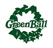 Green ball  | グリーン ボール  のロゴ