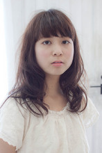 柔らかいセミロング☆|Sourireのヘアスタイル