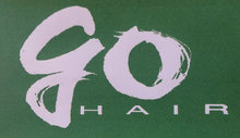 go. HAIR  | ゴーヘアー  のロゴ