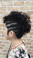 お祭りヘア|go. HAIRのヘアスタイル