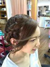 パーティヘアー アップ|go. HAIRのヘアスタイル