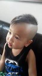 アシメモヒカン|go. HAIRのキッズヘアスタイル