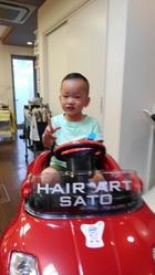 今日も・・・|HAIR ART SATOのキッズヘアスタイル