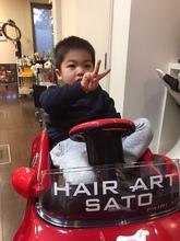 カッコよく♪|HAIR ART SATOのキッズヘアスタイル