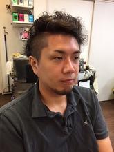 個性的!な おしゃれスタイル♪|HAIR ART SATOのメンズヘアスタイル