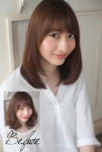 似合わせ骨格カラー診断019|Secretのヘアスタイル