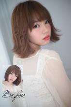 似合わせ骨格カラー診断022|Secretのヘアスタイル