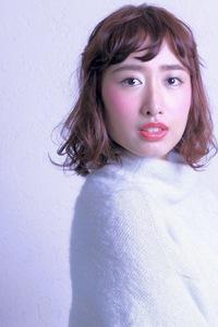波ウェーブMIX☆ハーフアップ