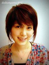 大人っぽい女性の雰囲気を感じるグラデーションボブ|daikanyama SOUのヘアスタイル