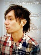 美 黒〜bikoku〜|daikanyama SOUのメンズヘアスタイル