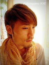 ツーブロックでザンシングラデーションボブ|daikanyama SOUのメンズヘアスタイル