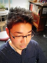 毛先の動きでアクティブ感を強調|daikanyama SOUのメンズヘアスタイル