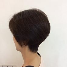 コンサバショート|STUDIO ASK 八戸ノ里店のヘアスタイル
