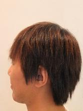 ASKの抗酸化縮毛矯正|STUDIO ASK 八戸ノ里店のメンズヘアスタイル