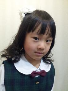 入学式ヘア