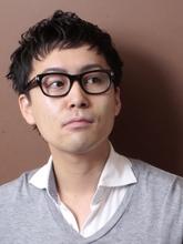 メンズカジュアル「インテリ×アーバン」|_TREEのメンズヘアスタイル