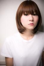 【Euphoria】ナチュラルクールミディ|Euphoria【ユーフォリア】 aoyama【アオヤマ】のヘアスタイル