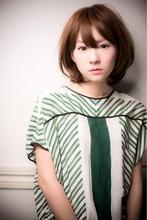 【Euphoria】美髪♪簡単スタイリングフェミニンボブ|Euphoria【ユーフォリア】 aoyama【アオヤマ】のヘアスタイル