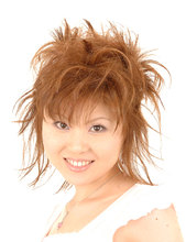 和風、洋風どちらにも合うフェザータッチなアップ  HAIR VERMEERのヘアスタイル