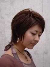 毛先がふわふわ動く可愛いいショート|Vogue Hair&Face    のヘアスタイル