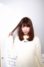スタイリングしやすいストレートヘア☆|HAIR MAKE WASHAW 芦屋店のヘアスタイル