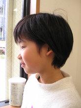 やさしい感じの子供Cut|HAIR & MAKE cottonのヘアスタイル