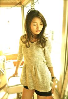 ふっとした瞬間の大人の女性の魅力!|La Poursuite  ~ HAIR  DSIGN ~   東京 自由が丘のヘアスタイル