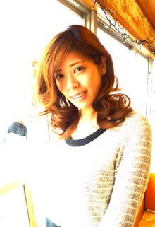 『恋の♪ふんわりカ〜ル』ふんわり羽根のよう〜♪ |La Poursuite  ~ HAIR  DSIGN ~   東京 自由が丘のヘアスタイル