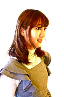 魅力的な横顔|La Poursuite  ~ HAIR  DSIGN ~   東京 自由が丘のヘアスタイル