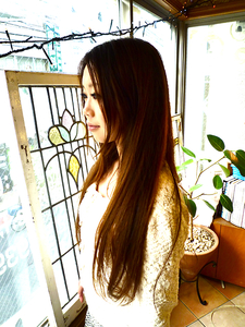 綺麗な長い髪 La Poursuite  ~ HAIR  DSIGN ~   東京 自由が丘のヘアスタイル