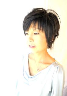 マニッシュなショート!|La Poursuite  ~ HAIR  DSIGN ~   東京 自由が丘のヘアスタイル