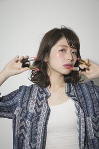 似合わせカット☆大人可愛いミディアムボブ