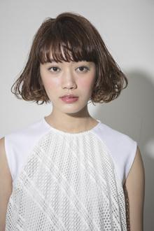 おしゃれウエーブBOB|ACQUA aoyamaのヘアスタイル