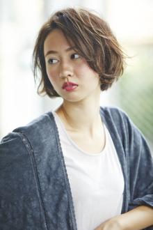 やんわりショートボブ|ACQUA aoyamaのヘアスタイル