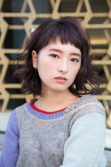 ショートバングヘア|ACQUA aoyamaのヘアスタイル