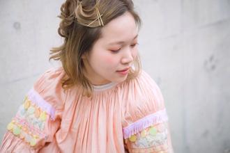 金ピンアレンジ|ACQUA aoyamaのヘアスタイル