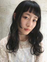 大人かわいい黒髪ロシアンブルー小松菜奈ワイドバング