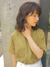 ふんわりパーマ ミディアム|ACQUA aoyamaのヘアスタイル