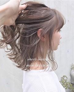 透明感抜群ミルクティーカラー|ACQUA aoyamaのヘアスタイル