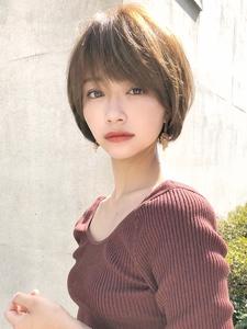 可愛くなるショートヘア|ACQUA aoyamaのヘアスタイル