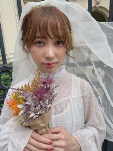 結婚式のヘアアレンジ。二次会ヘアアレンジ等お任せください!|ACQUA aoyamaのヘアスタイル