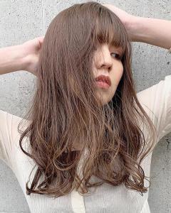 ブリーチなしの透明感抜群!ミルクティーベージュ|ACQUA aoyamaのヘアスタイル