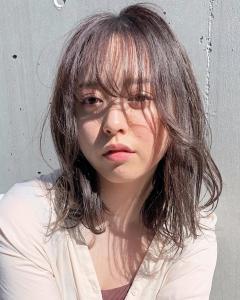 透明感溢れるシアーグレージュ|ACQUA aoyamaのヘアスタイル