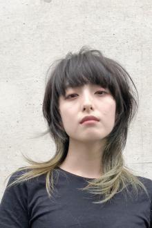 マッシュウルフ|ACQUA aoyamaのヘアスタイル