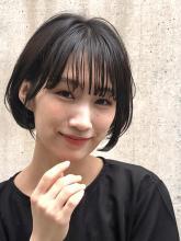 お手入れ簡単 ダブルボブ|ACQUA aoyamaのヘアスタイル